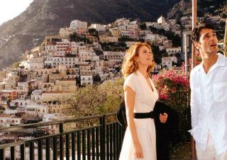 Cena do filme gravada em Positano: Frances e Marcello vivem um caso de amor na cidade
