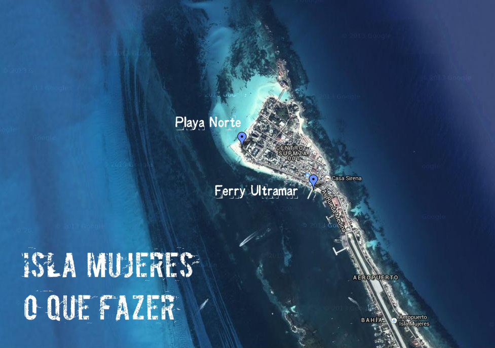 O que fazer em Isla Mujeres - Dicas: Playa Norte e Punta Sur - Cancun