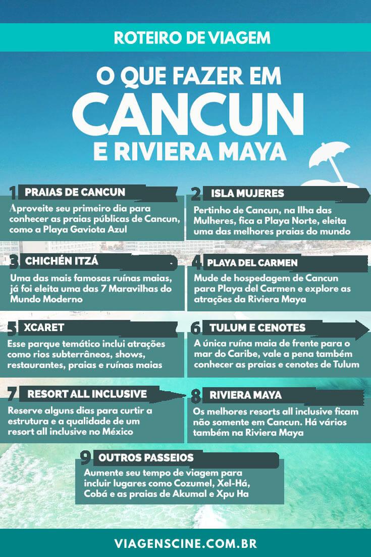 6114f59c8e O que fazer em Cancun e Riviera Maya - Roteiro de Viagem de 5