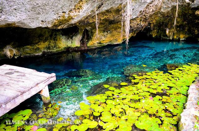 Cenotes no México: Gran Cenote e Cenote dos Ojos