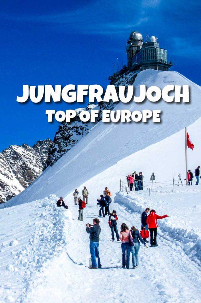 Jungfraujoch Suíça - Topo da Europa