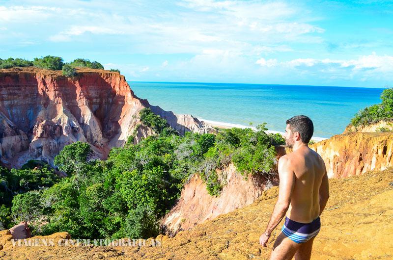 Praia da Lagoa Azul Arraial d'Ajuda Trancoso