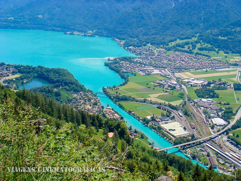 O que fazer em Interlaken e nos Alpes Suíços