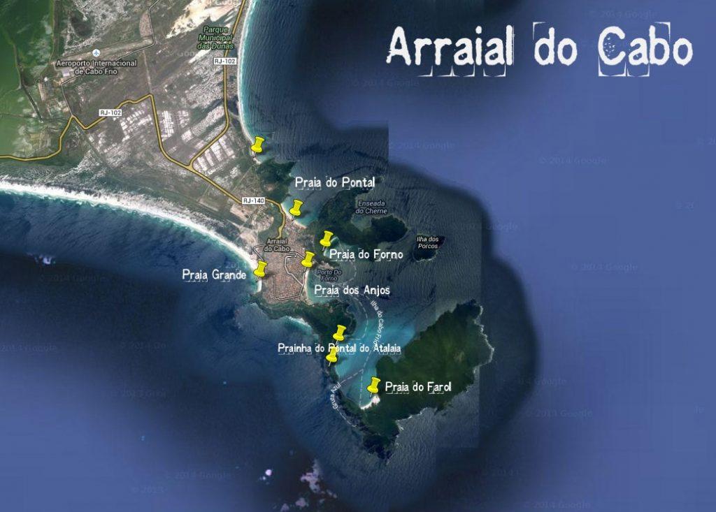 O que fazer em Arraial do Cabo Dicas e Roteiro de Viagem