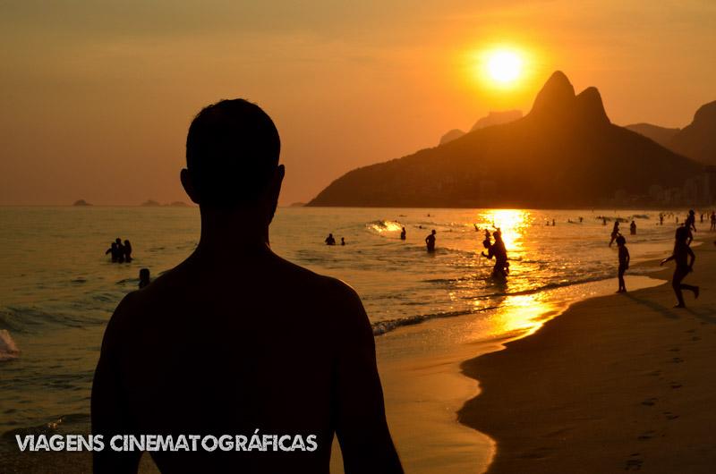 Pôr do sol no Arpoador e Praia de Ipanema