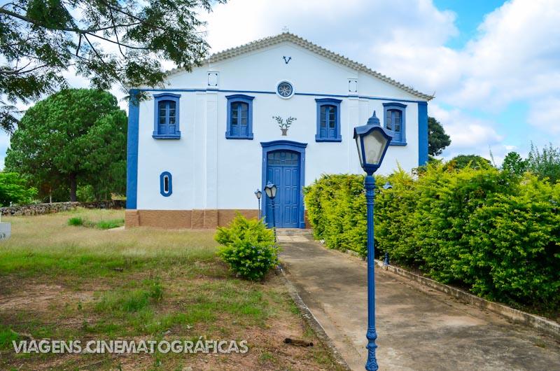 Capela do Saco, no caminho para Carrancas