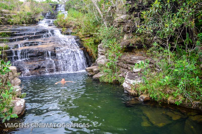 Carrancas: Cachoeira da Serrinha