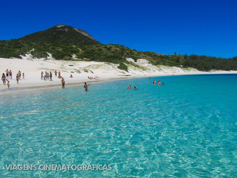 Melhores Praias do Rio de Janeiro: Praia do Farol - Arraial do Cabo