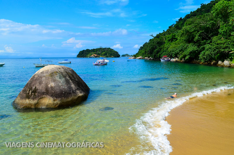 Melhores Praias do Rio de Janeiro: Praia Vermelha - Paraty