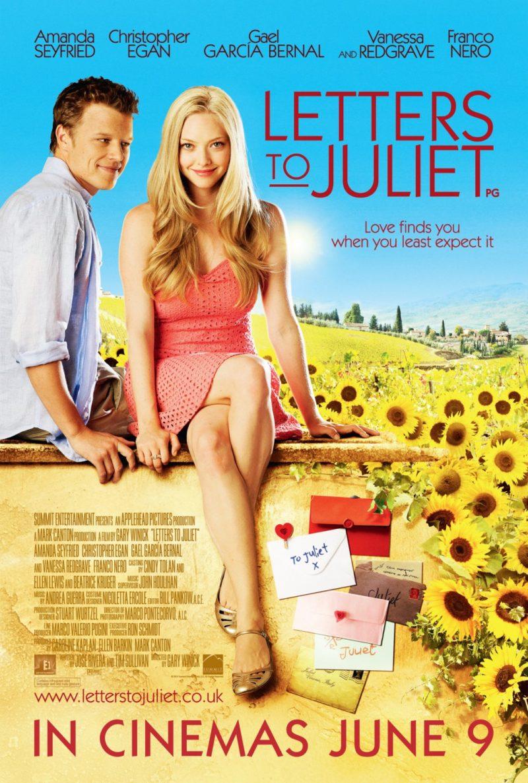O filme Cartas para Julieta é um desses filmes de viagem deliciosos: as locações incluem Verona e alguns lugares belíssimos na Toscana