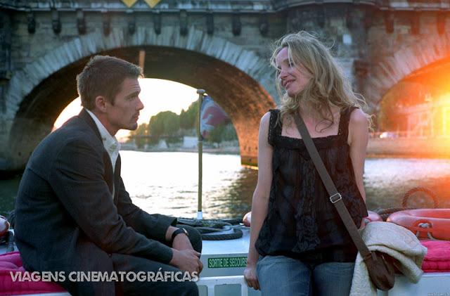 Os Melhores Filmes de Viagem na Europa - França e Itália: Antes do Pôr do Sol