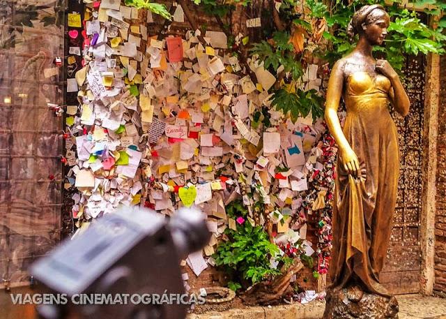Cartas para Julieta em Verona, por Fábio Pastorello