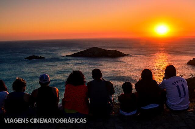 Pôr do Sol no Pontal do Atalaia