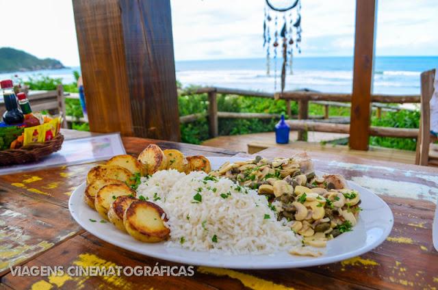 Praia do Rosa - Onde Comer