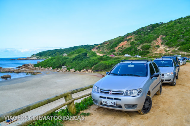 Praia do Rosa Carro Estacionamento