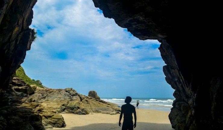 Ilha do Mel: Trilha de Nova Brasília até Encantadas
