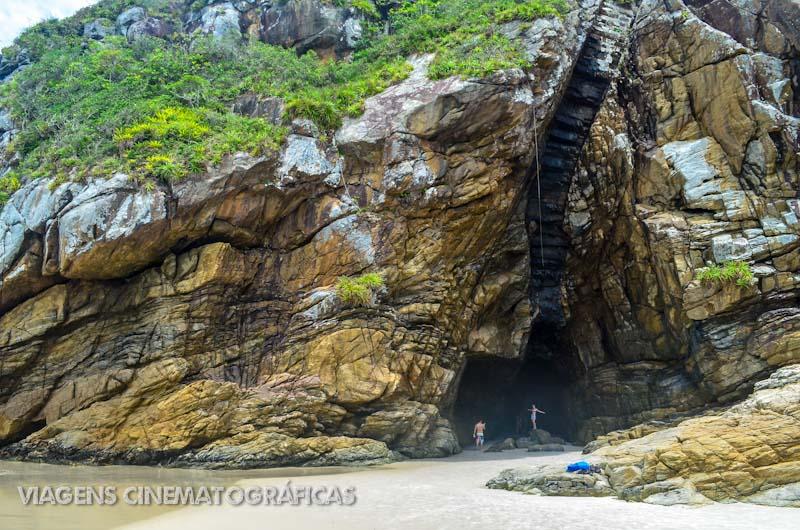 Ilha do Mel Gruta das Encantadas