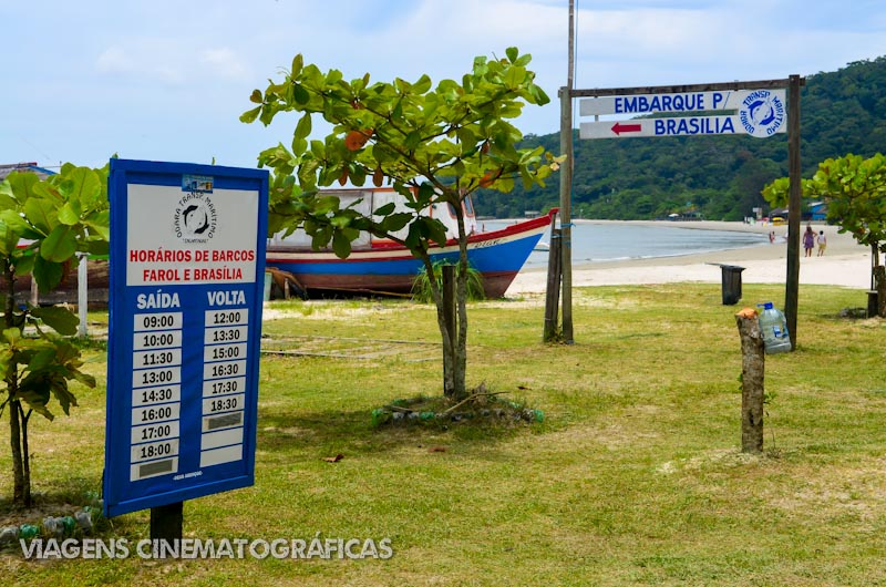 Ilha do Mel Barco Brasília Encantadas