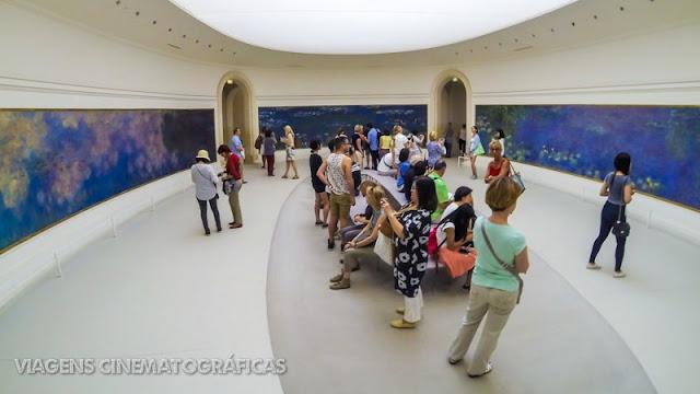 Paris e Musee de l'Orangerie - Pontos Turísticos