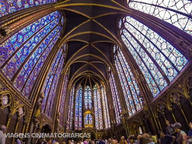 Paris e Sainte-Chapelle - Melhores Pontos Turísticos