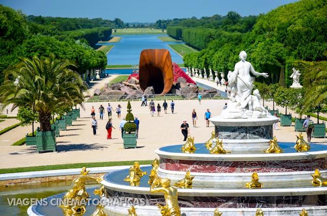 Paris - Passeio até o Palácio de Versalhes