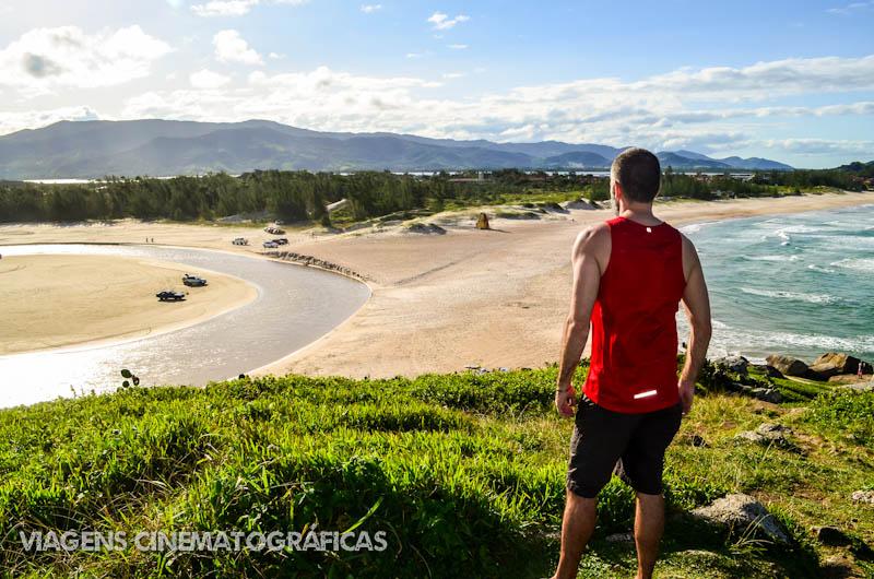 Trilha de Garopaba até Praia do Rosa - Praia da Ferrugem
