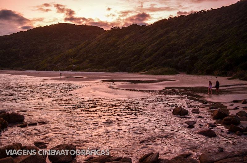 Trilha de Garopaba até Praia do Rosa - Pôr do Sol