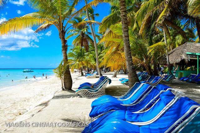 Isla Saona: Praia no Caribe