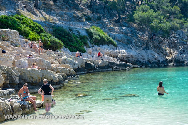 Calanques Cassis e Marselha - Sul da França