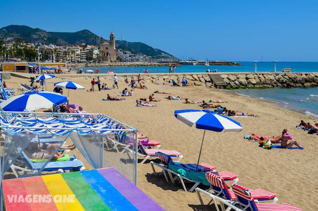 Sitges: Praia Gay perto de Barcelona