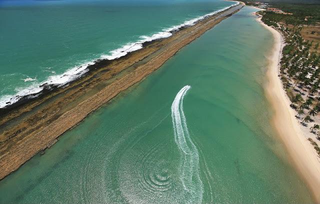 Porto de Galinhas: Praia de Muro Alto. Foto: Divulgação