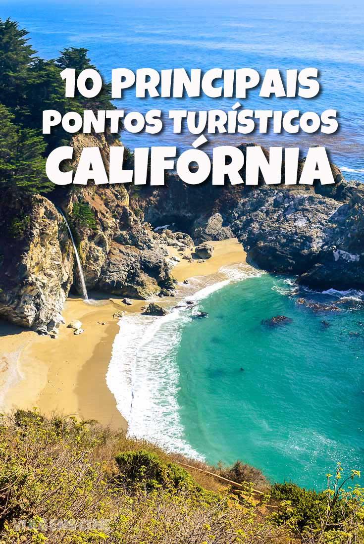 California Principais Pontos Turísticos de Interesse