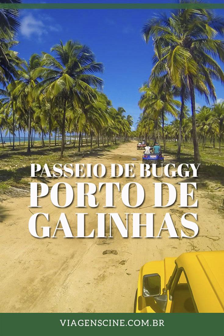 O que fazer em Porto de Galinhas? O passeio de buggy é uma boa opção para conhecer as praias de Muro Alto e o Pontal de Maracaípe