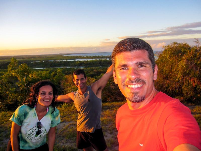 Em Boipeba: a viagem de 2009 foi exclusiva para a Bahia