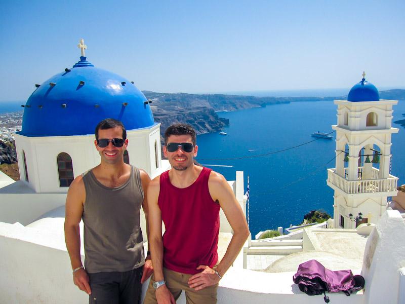 Grécia: uma viagem de sonhos, na sequência viajamos para os Alpes