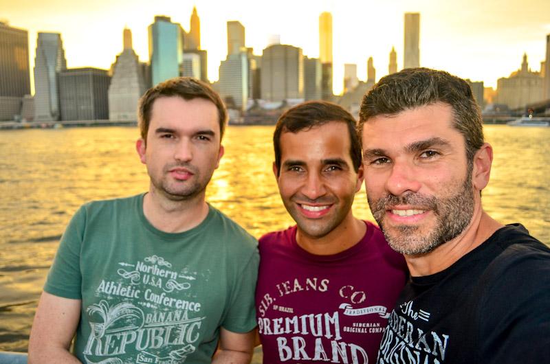 Em Nova York com o Alex, viagem também incluiu Boston e Washington