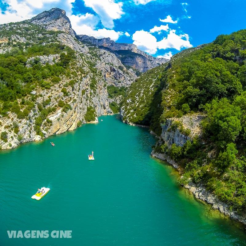 O Gorges do Verdon é considerado o cânion mais bonito da Europa. É de fato impressionante!