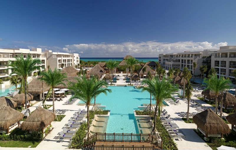 O hotel Paradisus na Riviera Maia tem um visual paradisíaco, assim como o destino