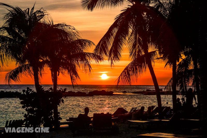O que fazer em Curacao Dicas e Roteiro de Viagem - Pôr do sol em Mambo Beach
