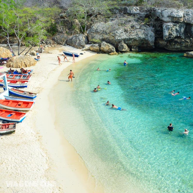 O que fazer em Curacao Dicas e Roteiro de Viagem: Playa Lagun