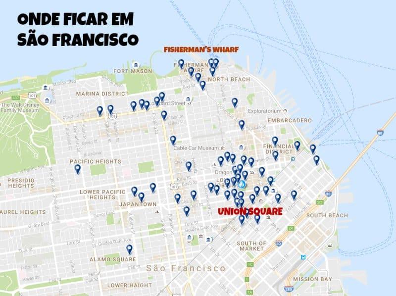 San Francisco Dicas: Onde Ficar em São Francisco