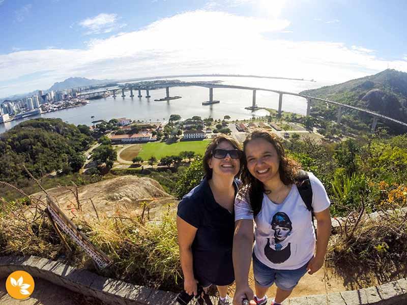 Em Vitória, capital do Espírito Santo. Foto: Marola com Carambola