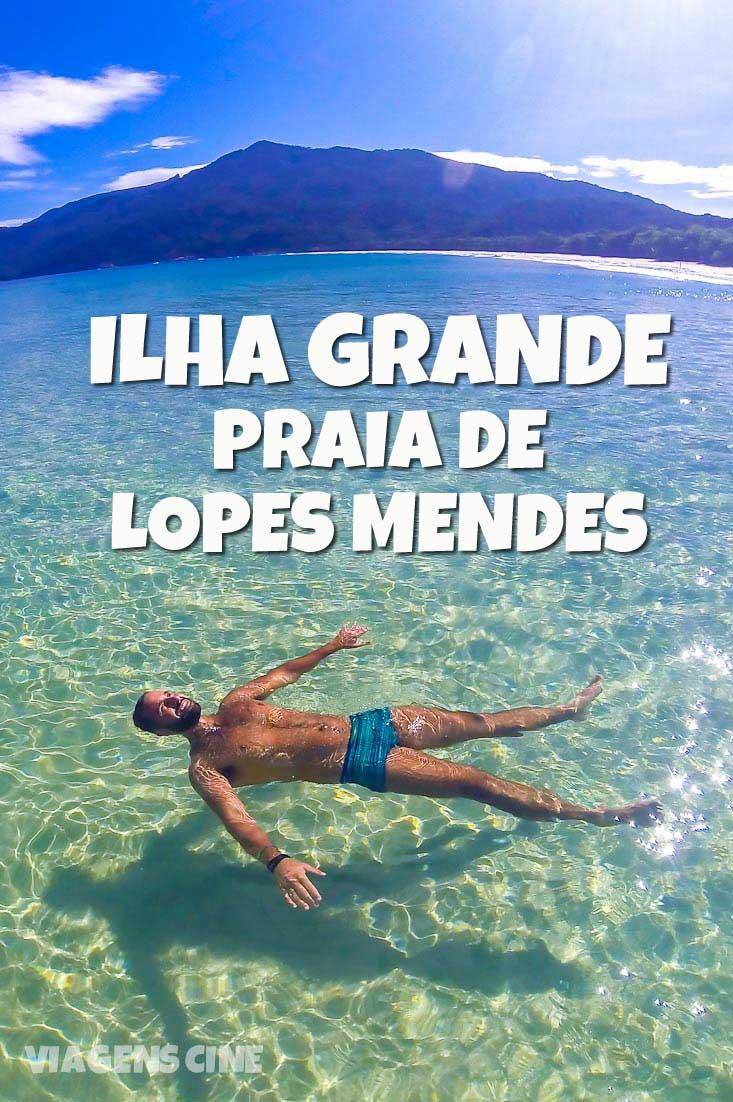 Praia de Lopes Mendes, Ilha Grande, uma das melhores praias do Brasil