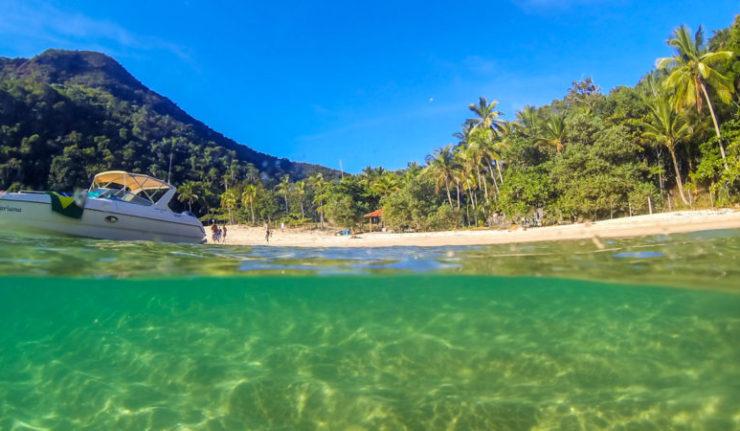 Ilha Grande: Passeio de Lancha Volta à Ilha - Praia do Aventureiro