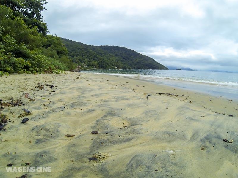 Ilha Grande com Chuva: Circuito Vila do Abraão, Praia Preta