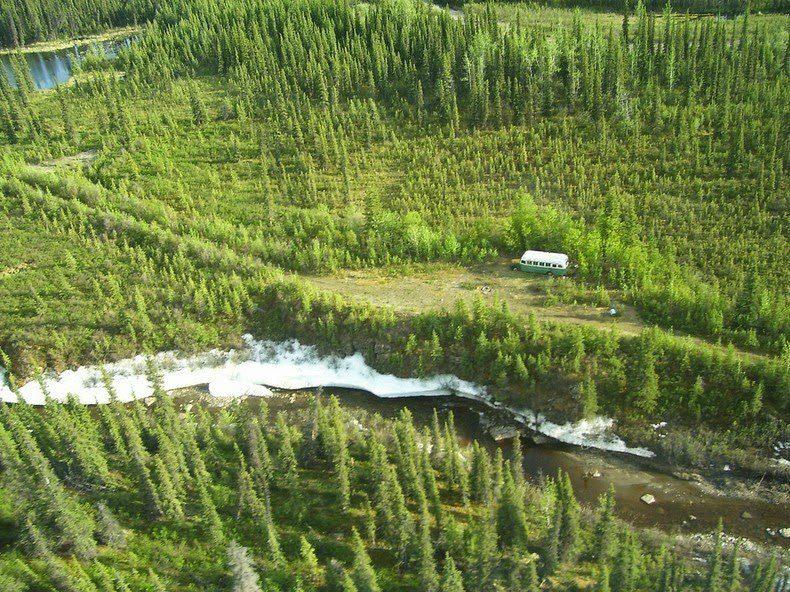 Na Natureza Selvagem: Locações do Filme