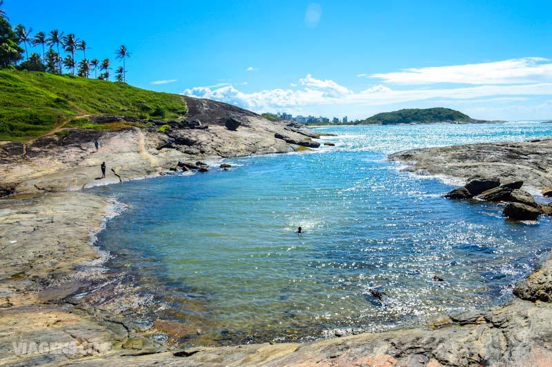 Melhores Praias do Espírito Santo: Praia dos Padres em Guarapari