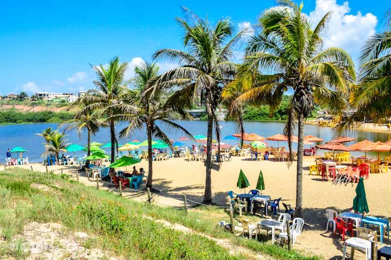 Melhores Praias do Espírito Santo: Lagoa do Siri em Marataízes