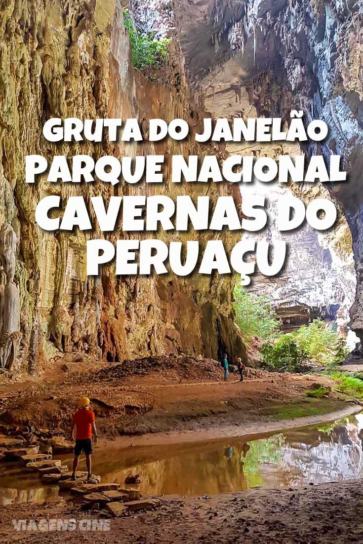 Gruta do Janelão Parque Nacional Cavernas do Peruaçu