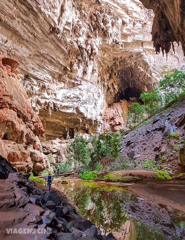 Parque Nacional Cavernas do Peruaçu: Gruta do Janelão